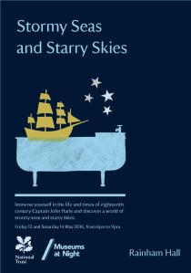 Stormy Seas and Starry Skies - May 13th and 14th - Rainham Hall
